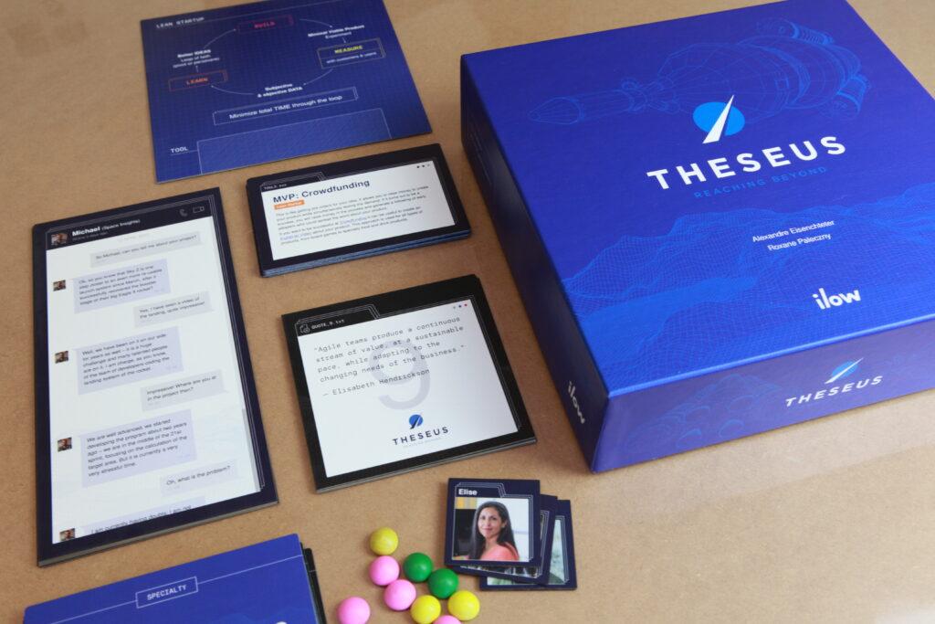 Un Serious Game inédit pour découvrir le Design Thinking, Lean Startup et Agile